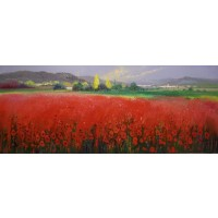 Fields of Red No.1