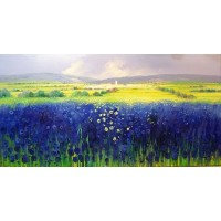 Fields of Yellow & Blue No.1